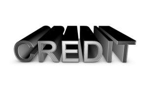 credit 3d sign